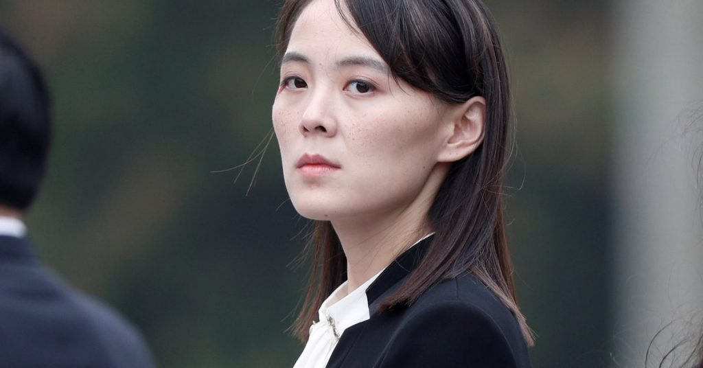 Kim Jong Un's sister has reappeared and insulted the South Korean president