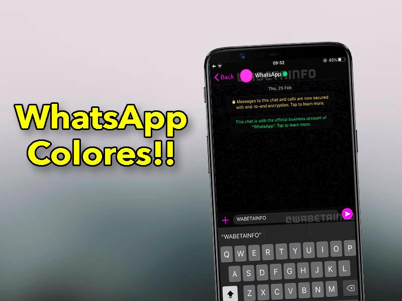 WhatsApp de colores: así es la nueva personalización de la aplicación