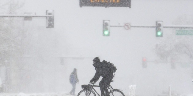 A historic storm hits the western United States