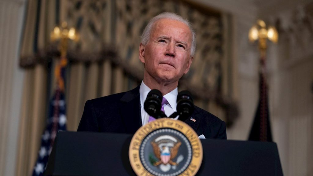Biden's acceptance increased after vaccination in the United States