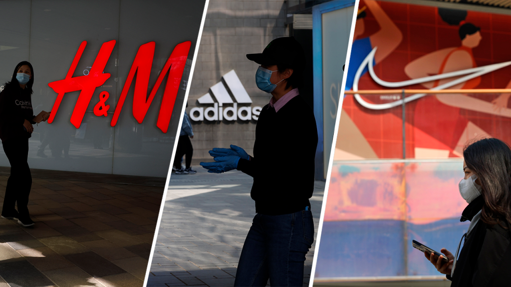 H&M, Nike and Adidas, among others, are in sight of China for their criticism of the Uyghur situation.