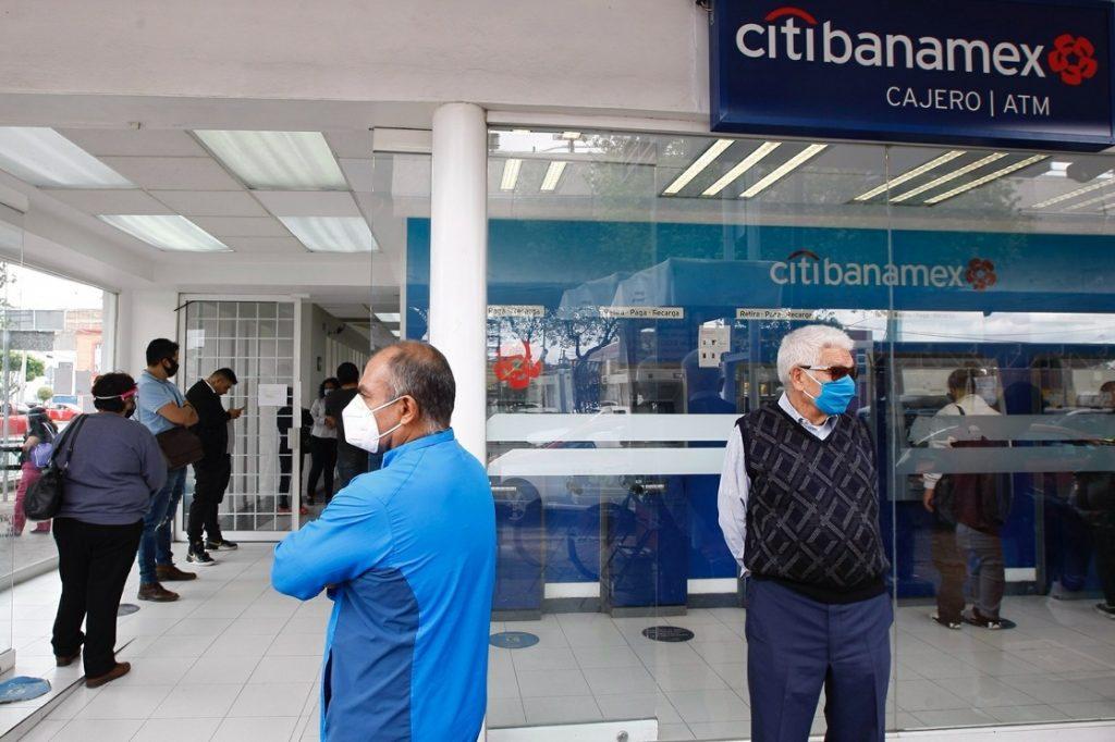 Sucursal de Citibanamex en la Ciudad de México.