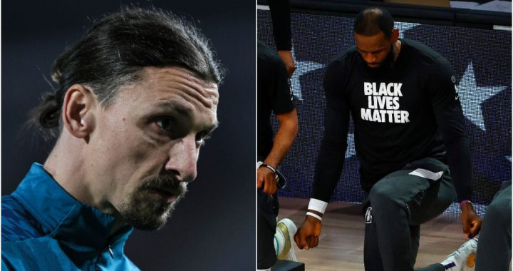 """NBA defends LeBron and attacks Ibrahimovic: """"You are the Devil's Fool"""""""