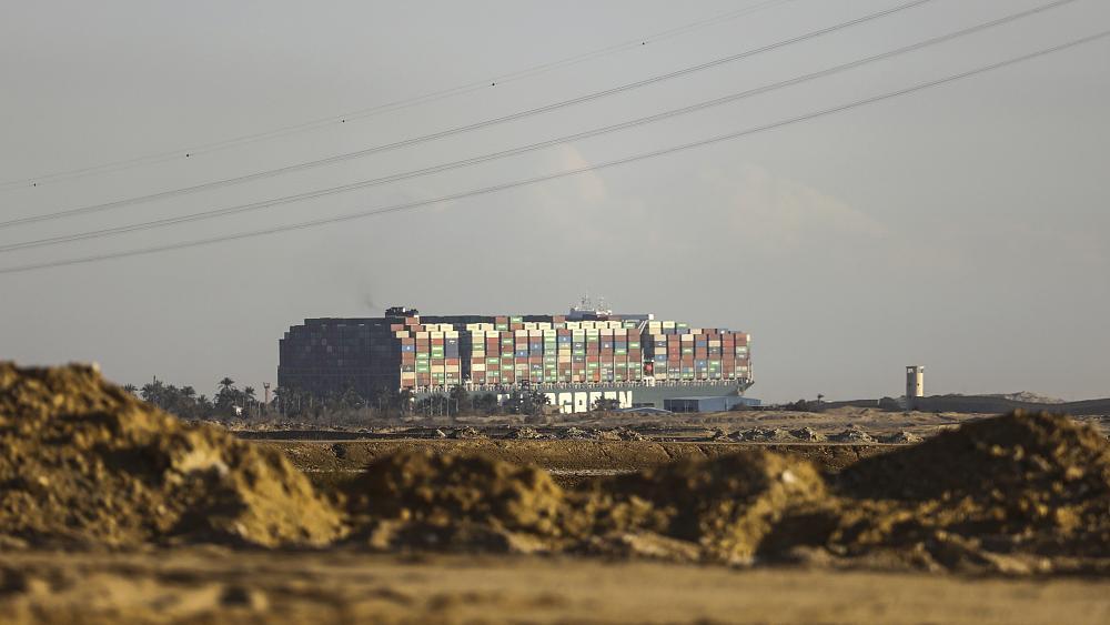 The Suez blockade affects the global economy