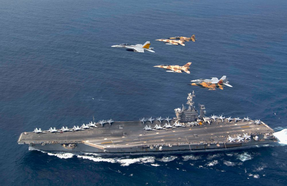 The United States carried out military exercises north of the Canary Islands without prior notice  Spain