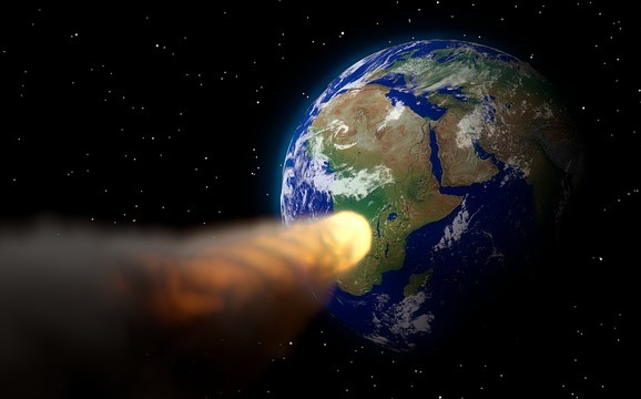 The crater was not created by a meteorite hitting Earth as believed