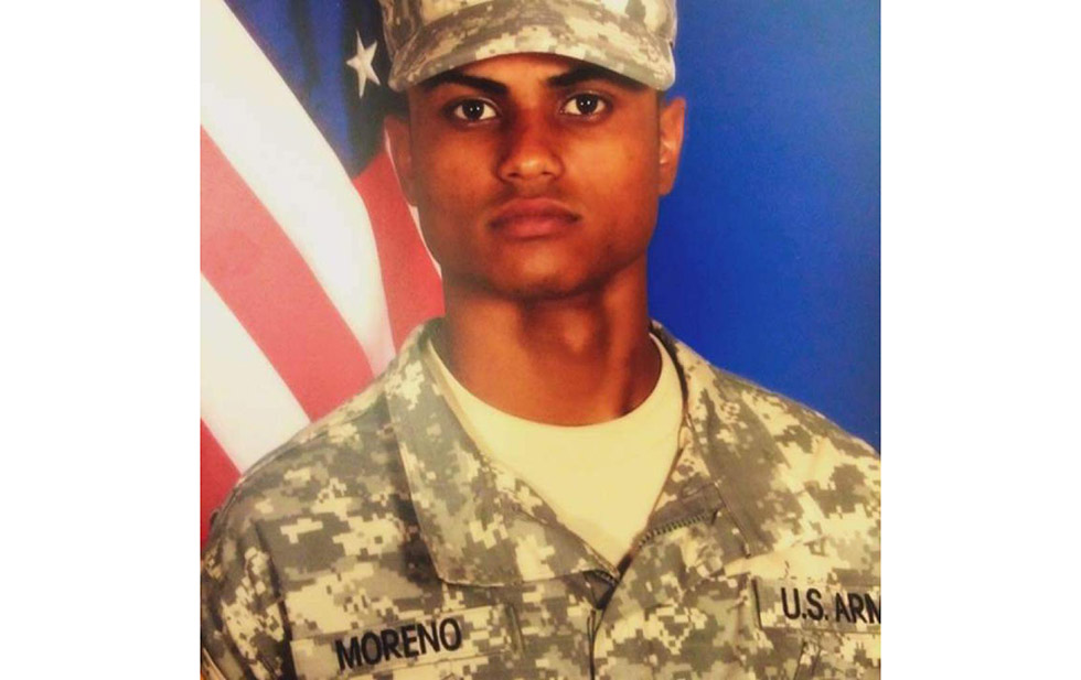 The dead biker was a Fort Bliss soldier