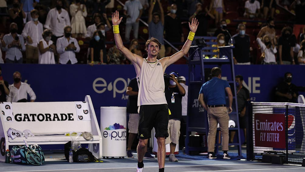 Zverev defeated Tsitsipas in the epic final and is the new king of Acapulco