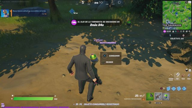 Fortnite Chapter 2 Season 6 Challenges Week 3 Missions Challenge Mission Find the jumping eggs hidden on the island