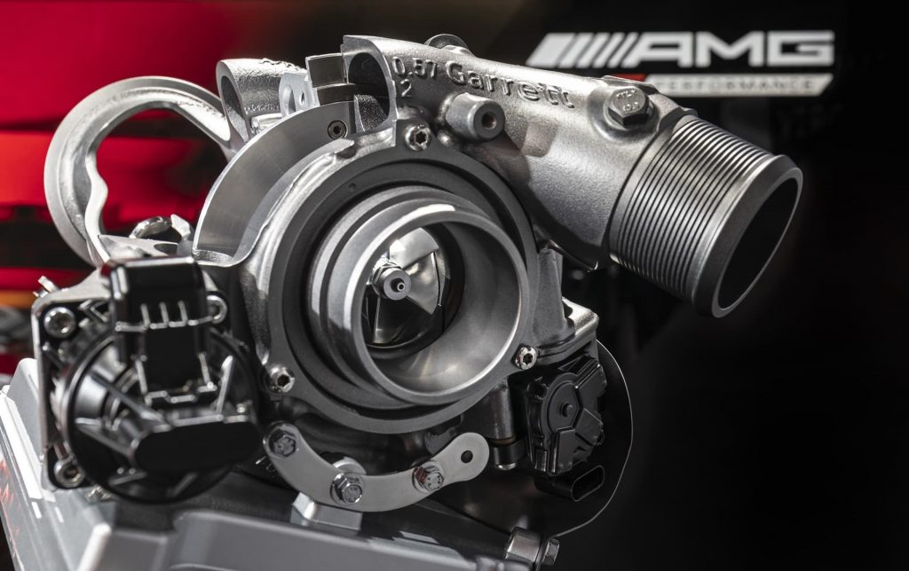 Mercedes-AMG makes the electric turbo engine a reality