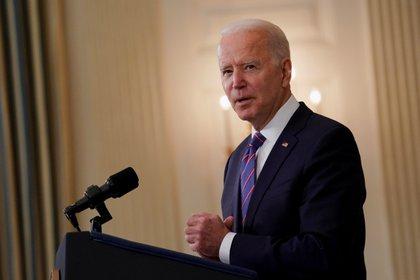 Joe Biden presented his ambitious infrastructure plan (Reuters / Erin Scott)