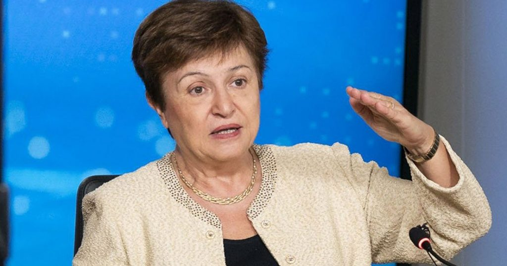 Without the authorities' intervention all at once, we would experience a depression three times deeper: Georgieva