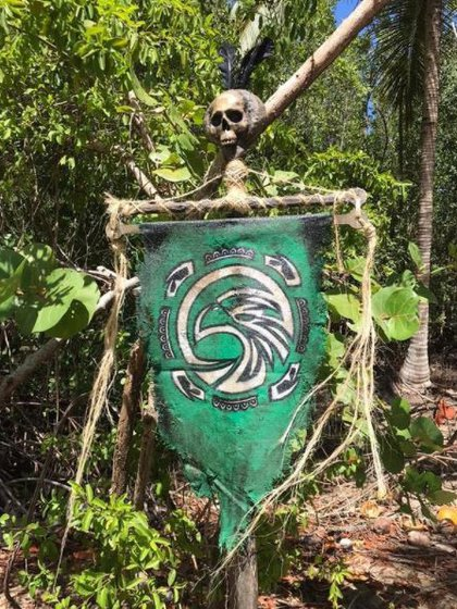 This is what the Halcones tribe logo looks like (Photo: Instagram / @ survivormexico)