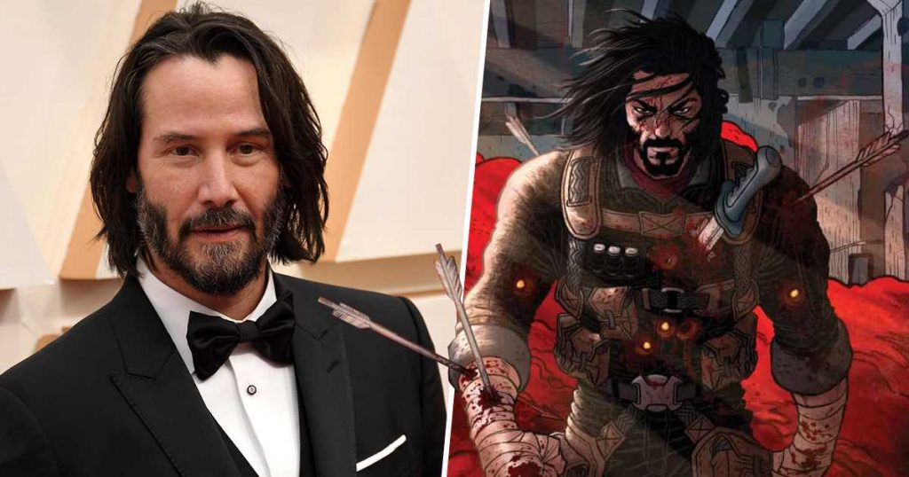 """This is """"BRZRKR,"""" the comedian that Netflix will adapt to with Keanu Reeves as the protagonist."""