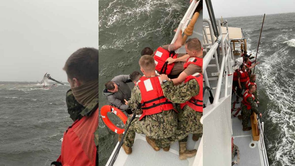 A boat capsizes, leaving at least one dead and 12 missing in Louisiana waters