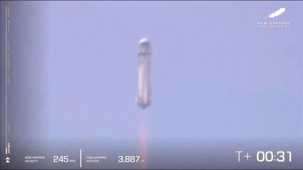 Blue Origin advances in space travel