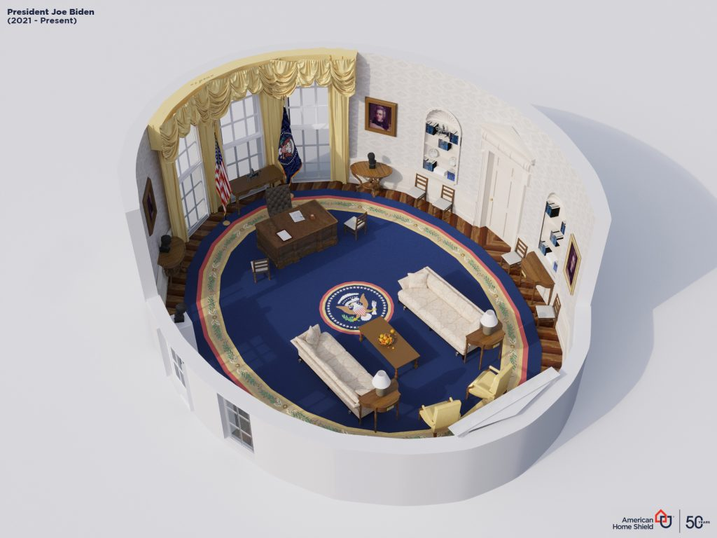 Render's series explores the evolution of the United States Presidential Office from 1909 to 2021