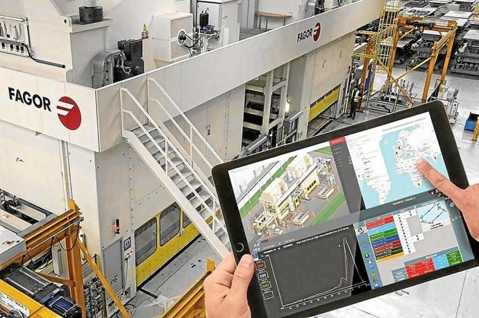 El empresariado vasco ha realizado un esfuerzo por incorporarse a la Industria 4.0. Foto: DEIA