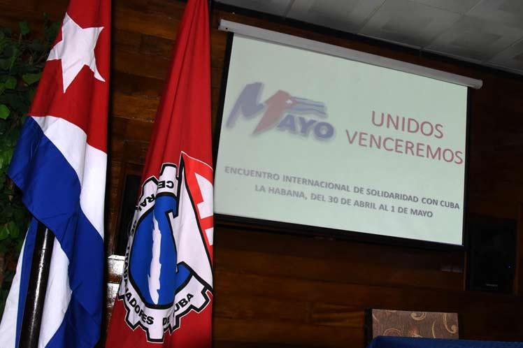 International Day of Solidarity and Virtual Workers in Cuba (+ photos) - Prensa Latina