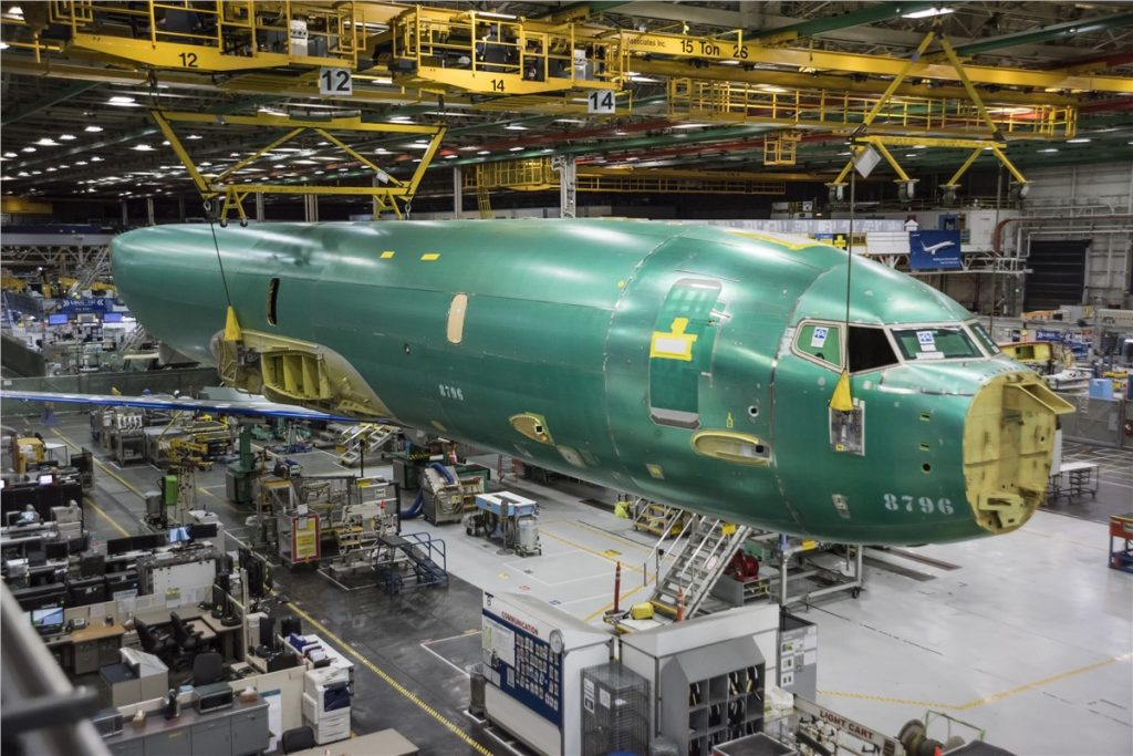 Boeing Defense, Space and Security rises 19% in one year