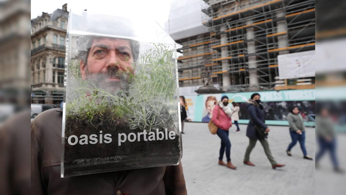 Alain Verschueren Belgium A portable oasis