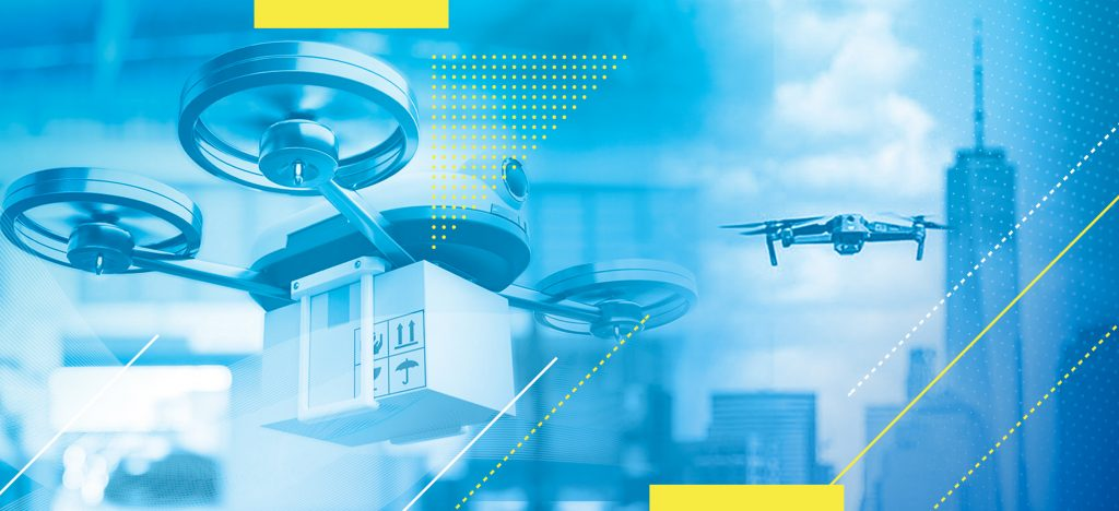 An opportunity for drones to transport goods