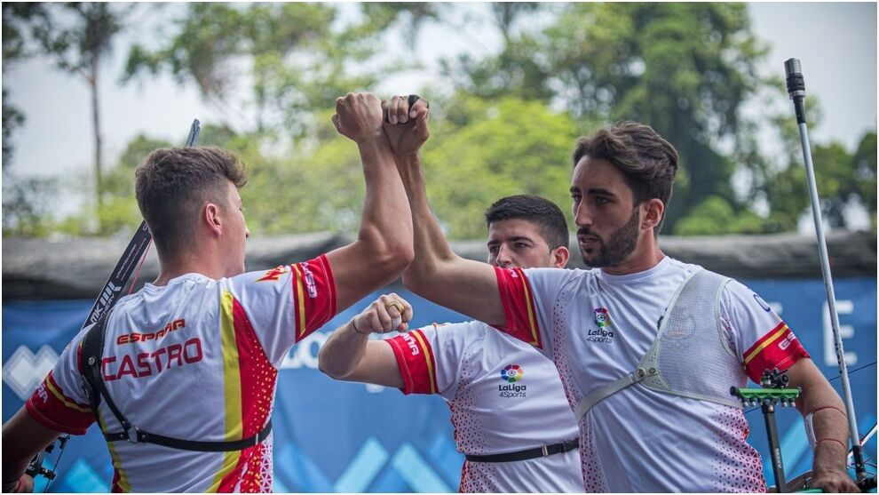 Archery: historic gold for Spain's Renewable Arch team at the World Cup