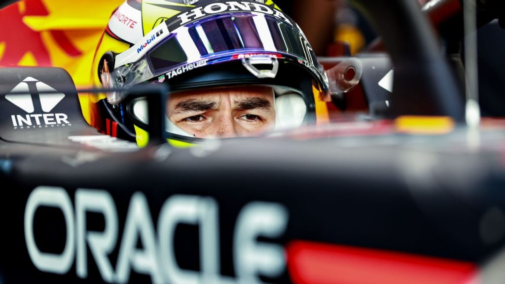Checo Pérez, with his sights on the 1st podium of the year