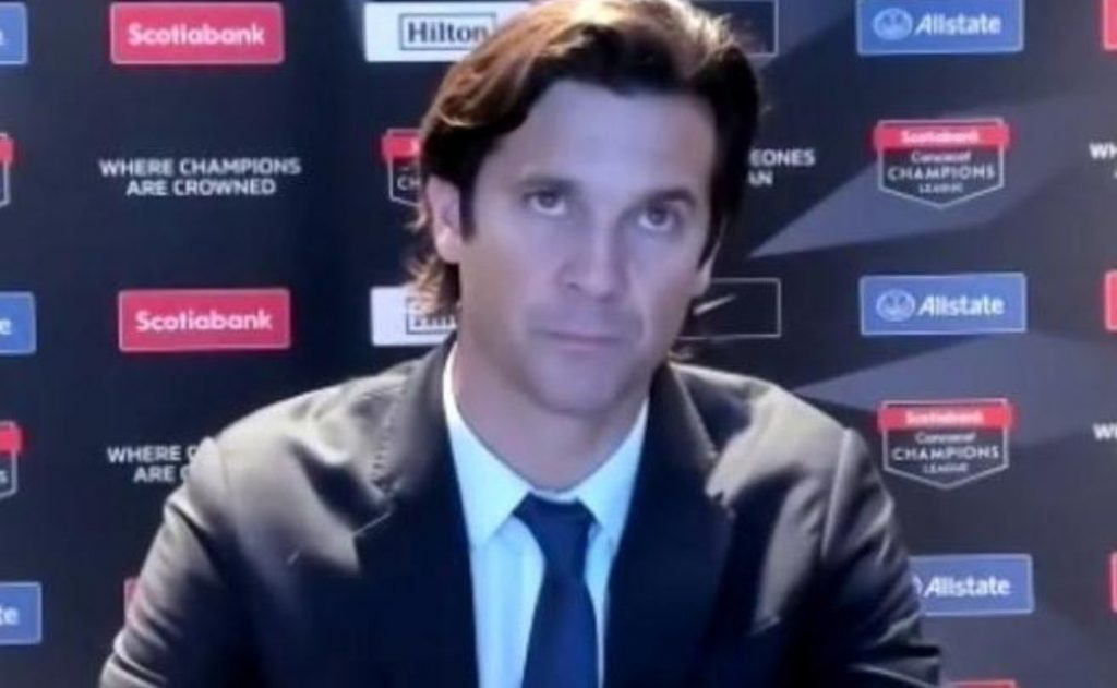 Club of America: Santiago Solari annoyed by refereeing against Portland Timbers