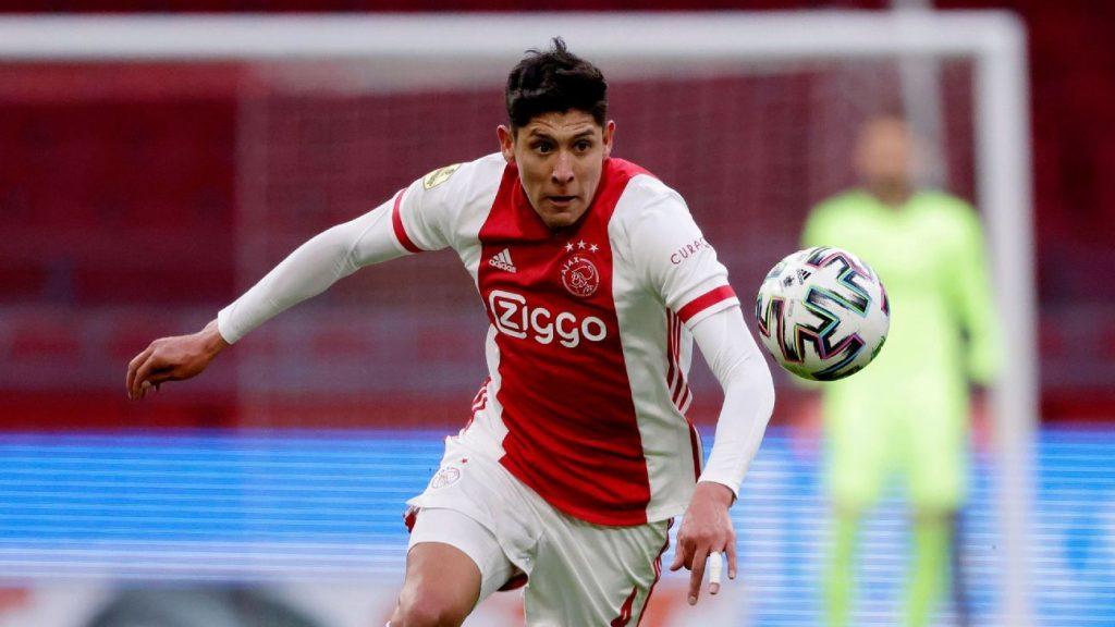 Edson Alvarez has been praised by Ajax fans