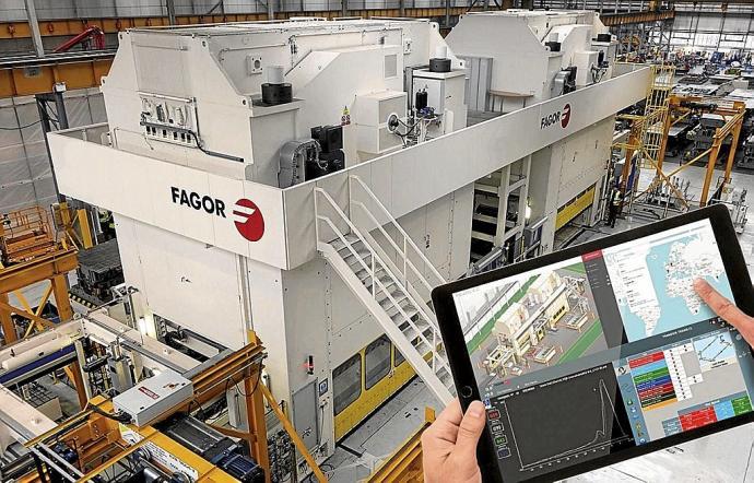 El empresariado vasco ha realizado un esfuerzo por incorporarse a la Industria 4.0. Foto: N.G.