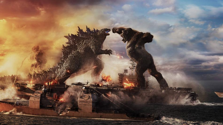 """""""Godzilla vs Kong"""" is at the box office in the United States"""
