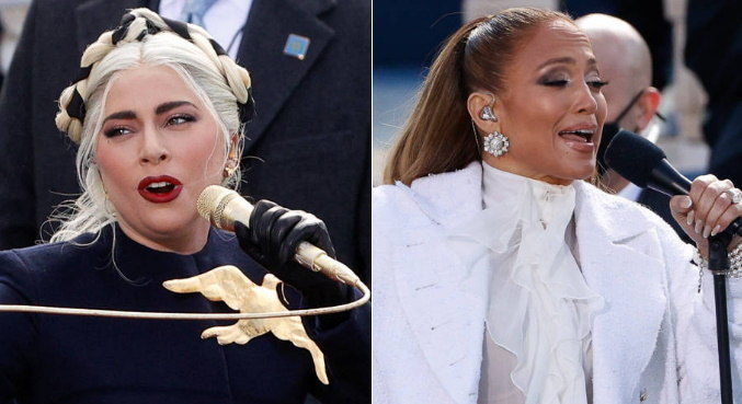 Goosebumps online with Gaga and J.Lo at Joe Biden's US Holdings