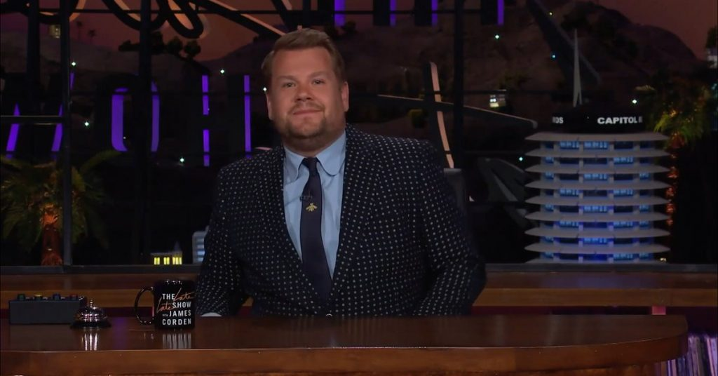 James Corden's emotional monologue in which he shared his feelings about the new Premier League