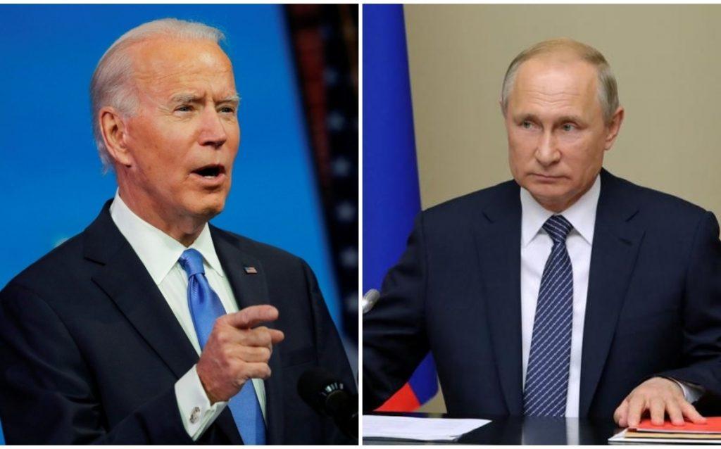 Joe Biden proposes to meet Vladimir Putin in a third country