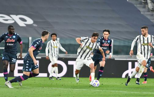Juventus regain life with two goals from Cristiano and Dybala.  Beat Naples