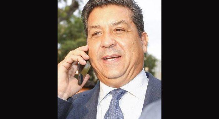 Francisco Javier García Cabeza de Vaca, gobernador de Tamaulipas.
