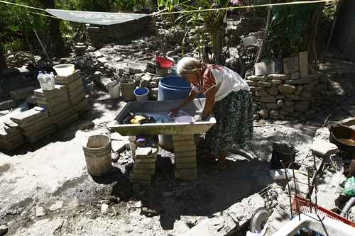 Comunidad de Cruzhica, en la huasteca hidalguense.
