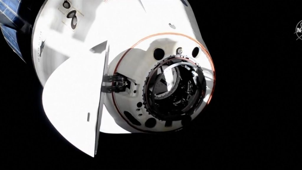 SpaceX's Crew Dragon has successfully completed the transfer exercise on the International Space Station