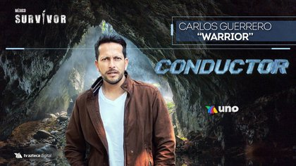 El Warrior joins Survivor Mexico as a driver