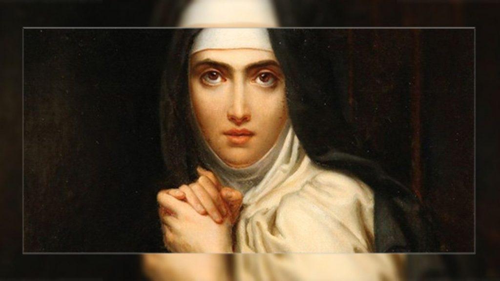The Pope: Saint Teresa Avila knew how to transfer Heaven to Earth