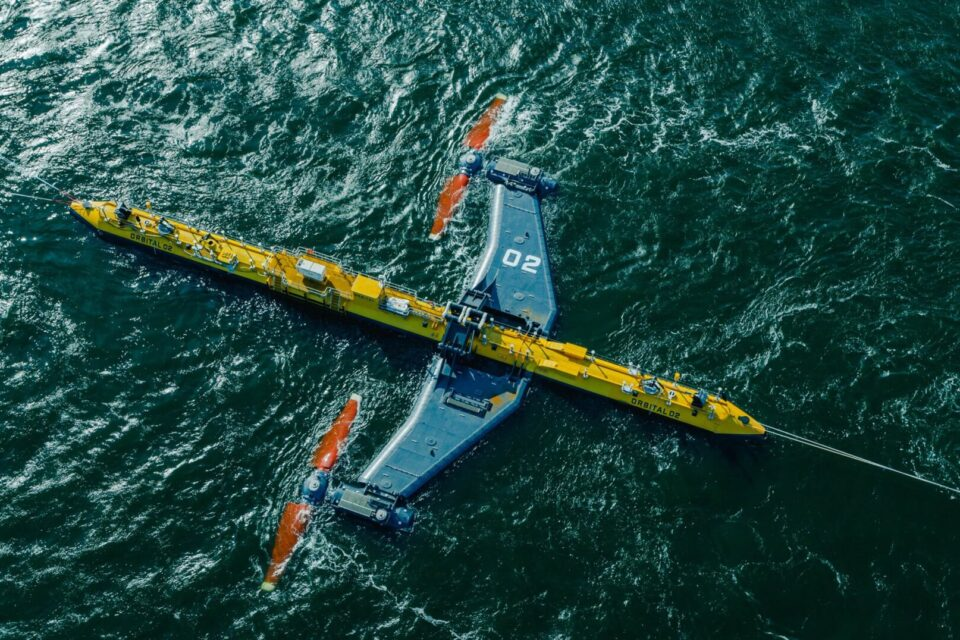 The Scottish Orbiter launches the most powerful tidal turbine in the world - Energy newspaper