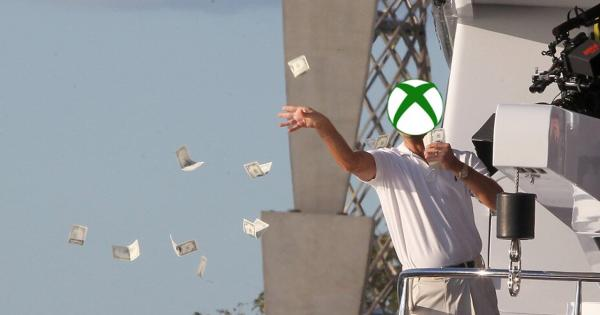 Xbox donates money to players to sell in the spring