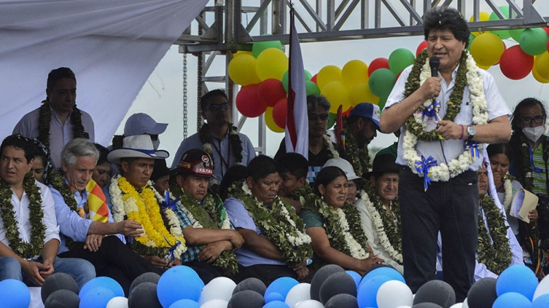 Born Ronasur: Integration Forum for Multinational America promoted by Evo Morales-Telam