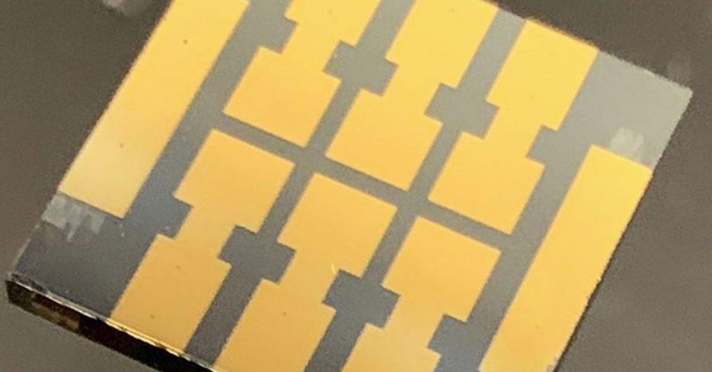 Science.-Perovskite Solar cells work best with molecular 'glue'