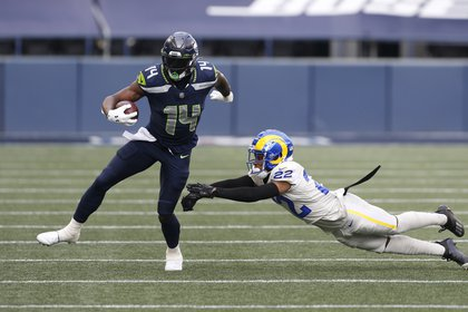 DK Metcalf is a player in the NFL Seattle Seahawks (Photo: USA TODAY Sports)