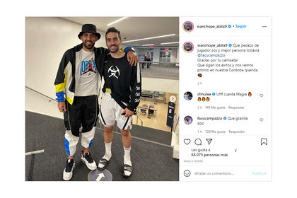 Wanchope posted with Campazzo