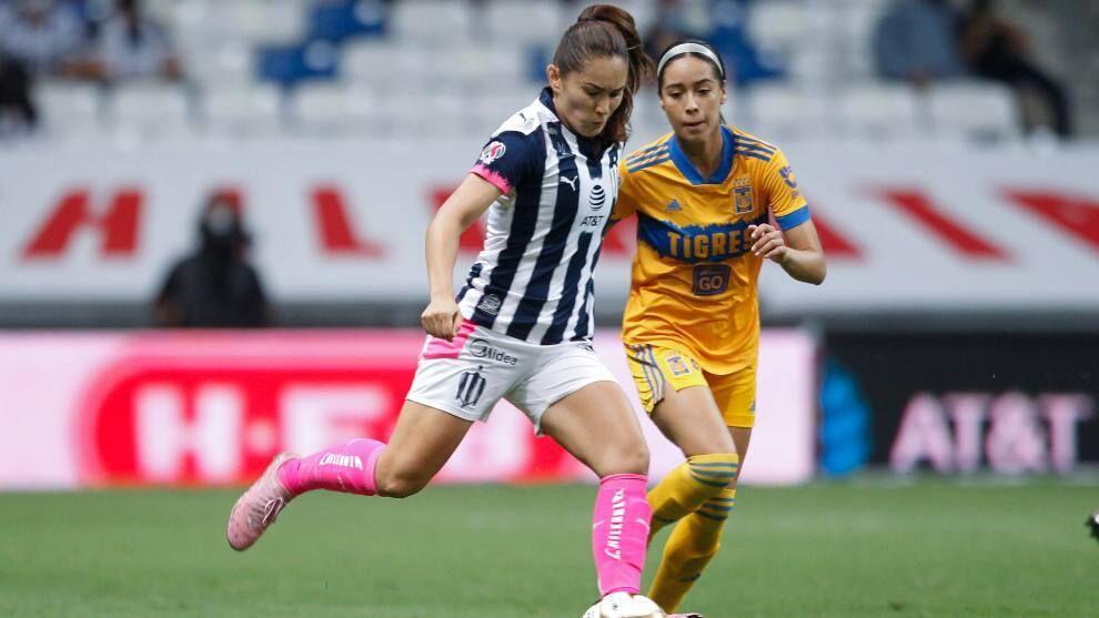 Clsico Regio Femenil Today: Monterrey vs Tigres: Summary and Goals of the Liga MX Femenil semi-final first leg