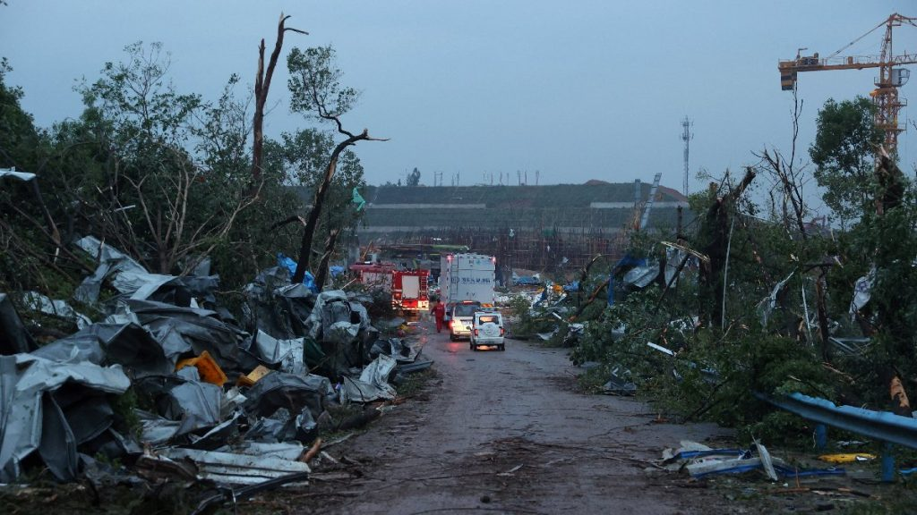 China: Two typhoons have killed at least 12 people