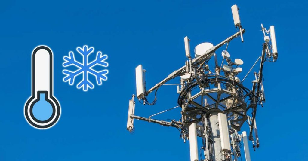 Telefónica UK's smart cooling for 4G and 5G networks